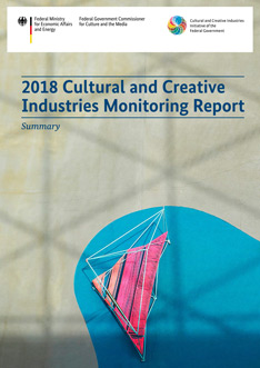 "Cover der Zusammenfassung ""2018 Cultural and Creative Industries Monitoring Report"""