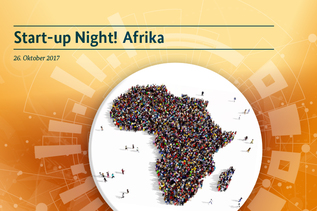 Keyvisual zu Start-up Night! Afrika