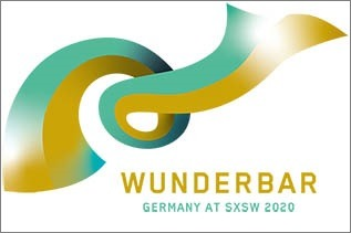 Wunderbar, Germany at  SXSW 2018; Quelle: Initiative Musik gGmbH