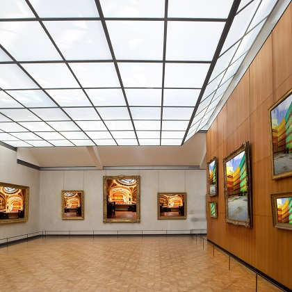 Art gallery, im Museum